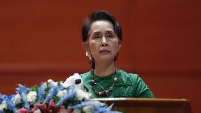 Penghargaan HAM untuk Aung San Suu Kyi Dicabut