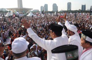 Reuni 212 Super Damai kok Prabowo Marah sih ke Media