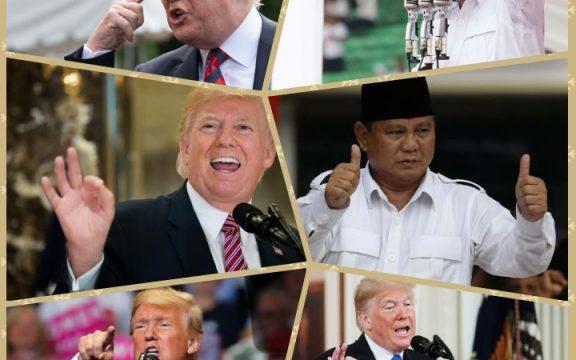 Reuni 11 Juta dan Usaha Prabowo Meniru Donald Trump