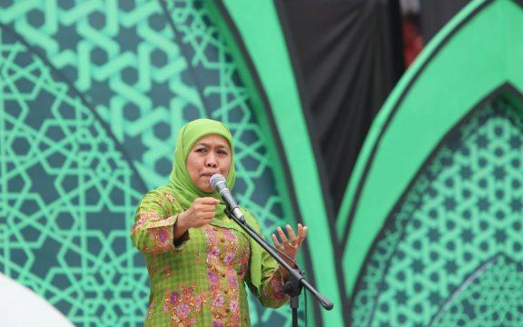 120 Ribuan Ibu-Ibu Muslimat Deklarasi Anti Hoax, Fitnah dan Ghibah