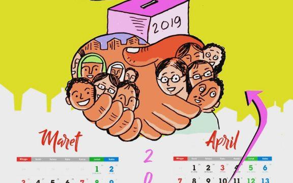 Lucu-lucuan Jelang Pipres 17 April 2019: Perang Badar, eh… Perang Tagar