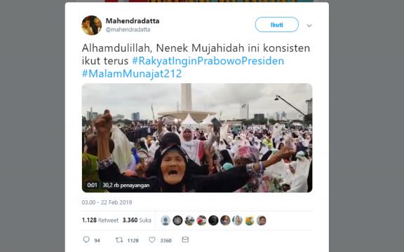 Munajat 212 yang Sangat Politis dan Tidak Ramah Jurnalis