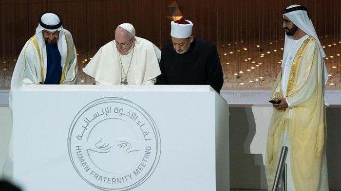 Terinspirasi Dokumen Perdamaian Paus dan Imam Besar Al Azhar,  Pemerintah UEA  Akan Dirikan Abrahamic House