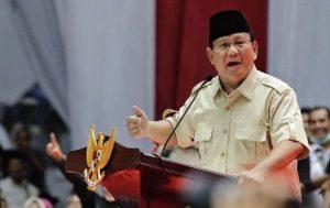 Pendukung Prabowo Tawakallah