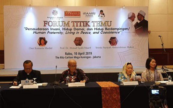 Forum Titik Temu, Upaya Menolak Ekslusivisme dan Kebencian Berlatar Agama