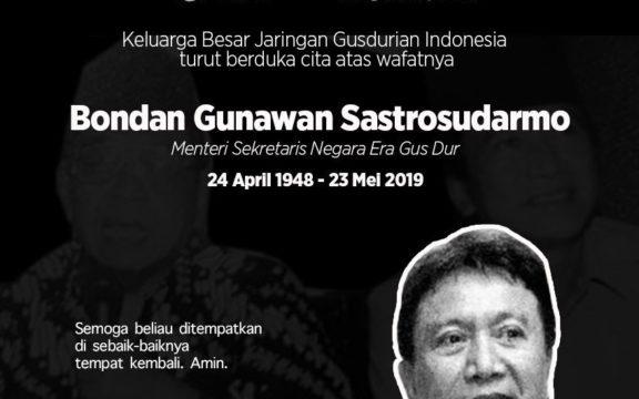 Obituari: Bondan Gunawan dan Jejak Fordem Melawan Soeharto