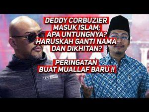 Deddy Corbuzier, Perlukah Disunat atau Ganti Nama Arab?