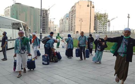 Jemaah Haji Indonesia Mulai Penuhi Hotel di Madinah