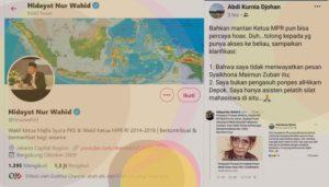 Ketika Hidayat Nur Wahid dan Haikal Hassan Sebar Hoax tentang Mbah Moen