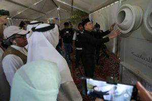 Fasilitas AC untuk Tenda Jamaah Haji Indonesia Di Arafah