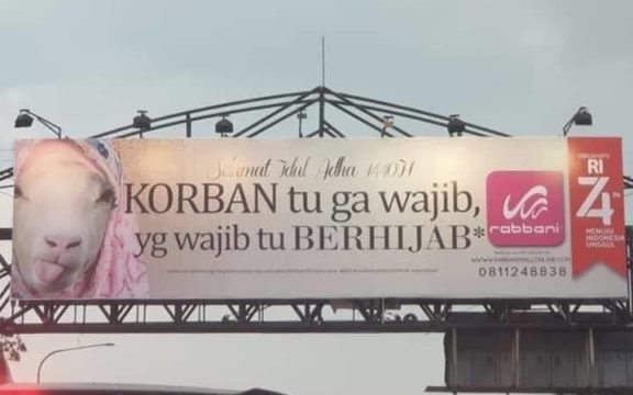 Iklan Jilbab Robbani dan Standar Kesalehan yang Dibikin Modal