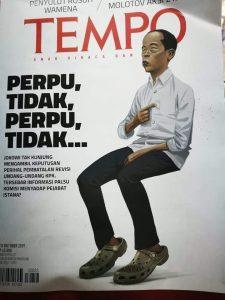 Sisi Lain Wajah Letih Jokowi di Kover Tempo Itu