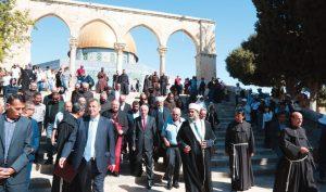 Kunjungan Bersejarah Delegasi Vatikan di Masjid Al-Aqsa