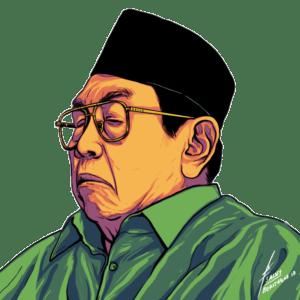Lelaki yang Ambyar Karena Keculasan itu Bernama Abdurrahman Wahid