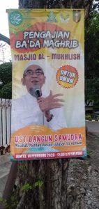 Catatan untuk Ustadz Bangun Samudera Usai Mendengarkan Ceramah-ceramahnya