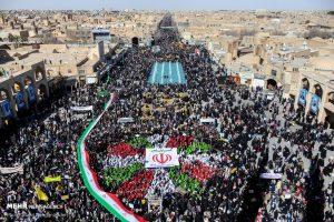 Dari Dekat, Menyaksikan Warga Iran Memperingati Kemenangan Revolusi Islam