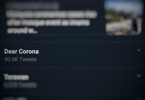 Surat Terbuka untuk Virus Corona