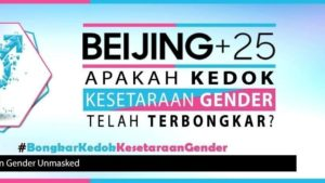 25 Tahun Konferensi Beijing: Meluruskan Cacat Logika Penolak Kesetaraan Gender