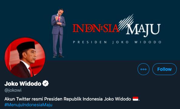 Ada yang Ganjil dari Tweet Presiden Jokowi Menjelang Idul Fitri