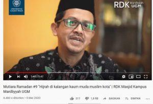 """Viral Video Prof Noorhaidi Hasan: Menyoal """"Sesat"""" Hijrah Milenial dan Transformasi Strategi Dakwah"""