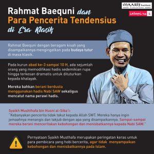 Ustadz Rahmat Baequni dan Para Pencerita Tendensius Di Era Klasik Sejarah Islam