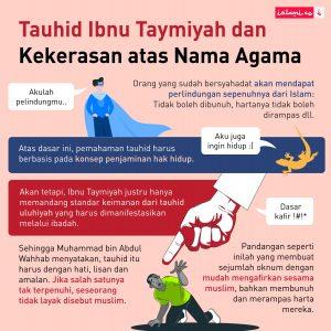 Klasifikasi Tauhid ala Ibnu Taymiyyah dan Implikasinya bagi Kekerasan Berwajah Agama