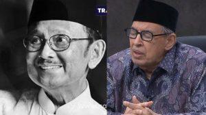 Mengenang Setahun Wafatnya BJ Habibie: Jasanya Terhadap Tafsir Al-Mishbah dan Persahabatan dengan Prof. Quraish Shihab