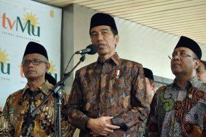 Jokowi Perintahkan Mensesneg Antar Naskah UU Ciptaker ke NU-MUI, Padahal Sikap PBNU Udah Jelas