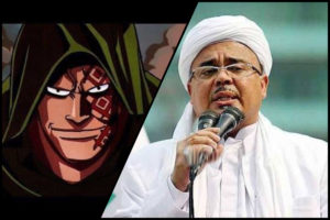 Membaca Setrategi Revolusi Habib Rizieq Lewat Anime One Piece