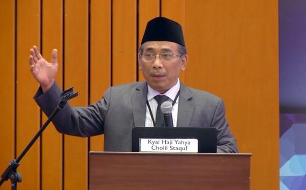 Yahya Staquf: Menyikapi Hinaan kepada Nabi Muhammad dengan Membunuh Juga Tindakan Biadab