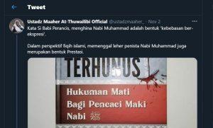 Benarkah Membunuh Penista itu Fiqih Islami? Tidak Segampang itu, Ustadz Maaher