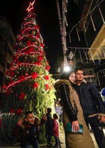 Dekorasi Natal Dijual di Arab Saudi untuk Pertama Kalinya