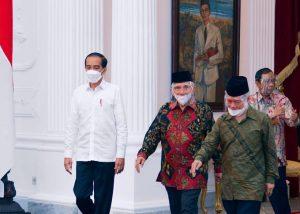Bertemu Jokowi, Amien Rais Bicarakan Kasus 6 Laskar FPI
