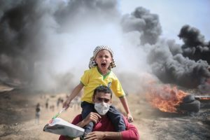 Malam Kembang Api di Gaza