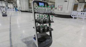 Robot-robot ini Siap Bantu Pelaksanaan Ibadah Haji Tahun Ini